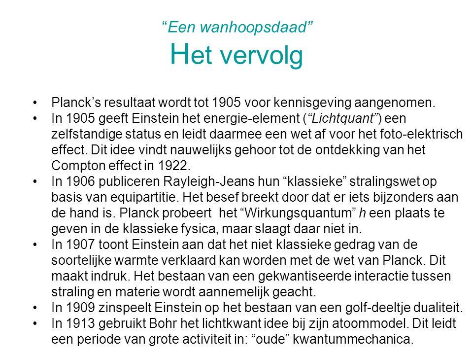 Planck haalt in 1913 (met anderen) Einstein naar Berlijn.