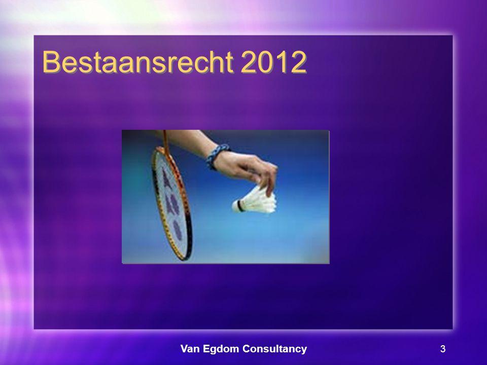 Van Egdom Consultancy 4 Bestaansrecht 2012