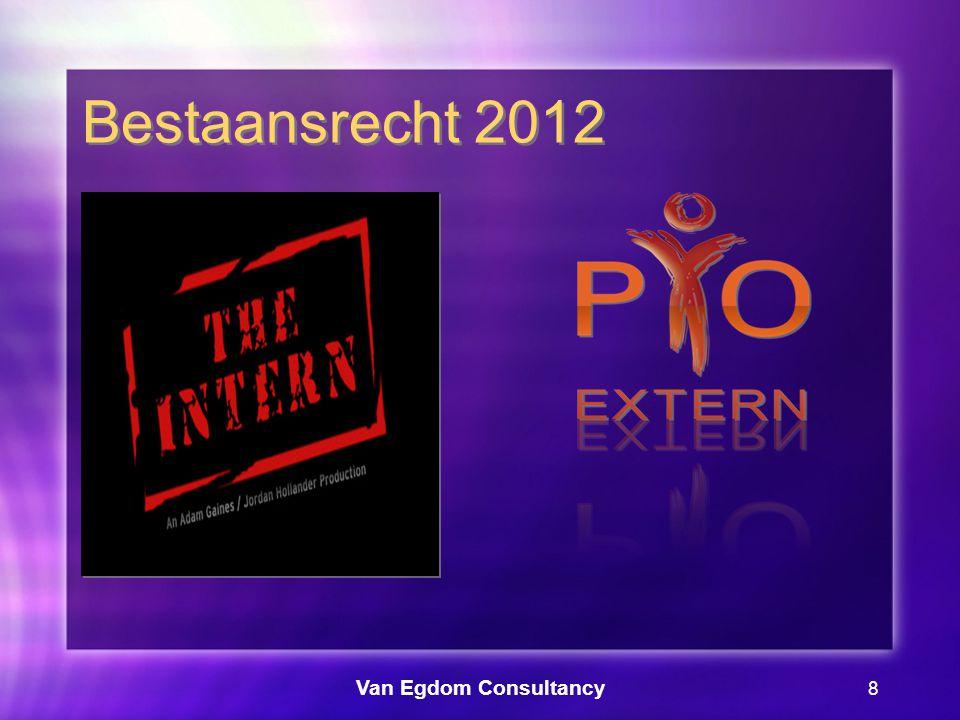 Van Egdom Consultancy 9 Bestaansrecht 2012