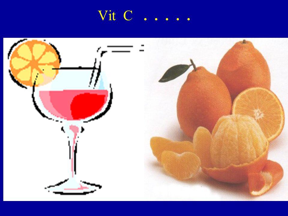 Vit C.....