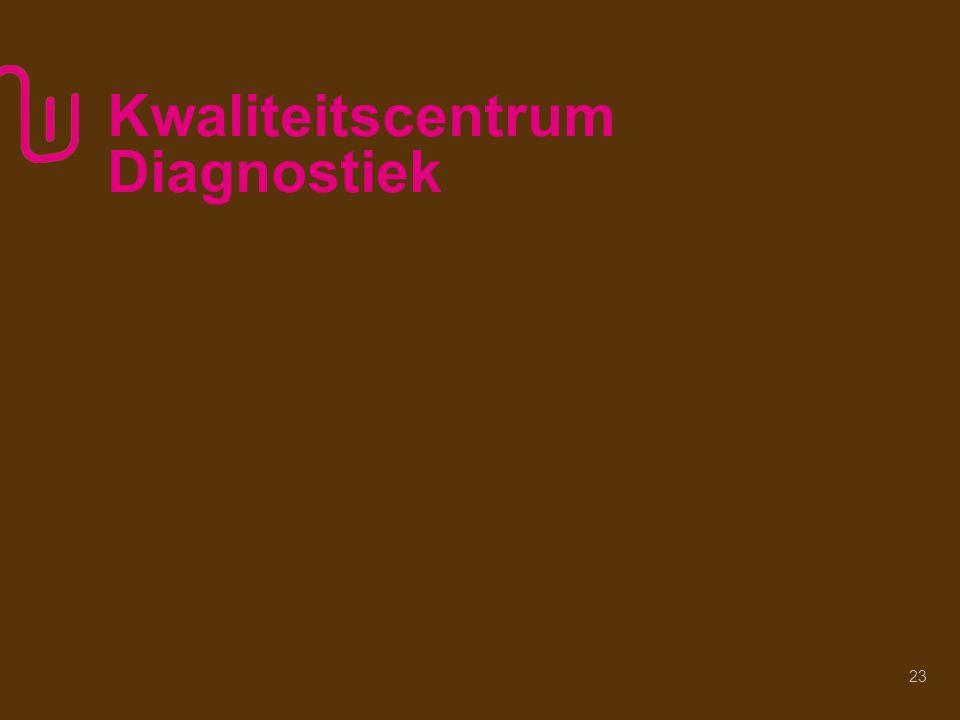 Kwaliteitscentrum Diagnostiek 23