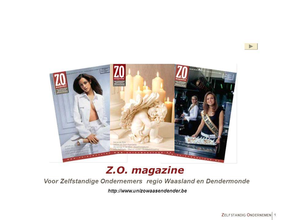 inleiding Sedert oktober '92 verschijnt Z.O.-magazine maandelijks met een gecontroleerde oplage van 15.000 exemplaren.