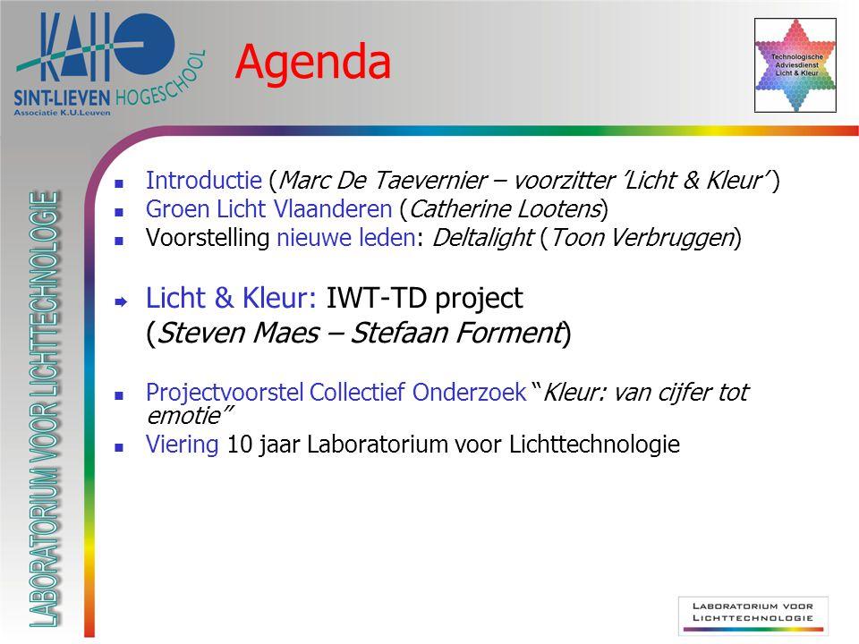 Door de stuurgroep = leden TD-project zelf Door andere begunstigde bedrijven Hoe.