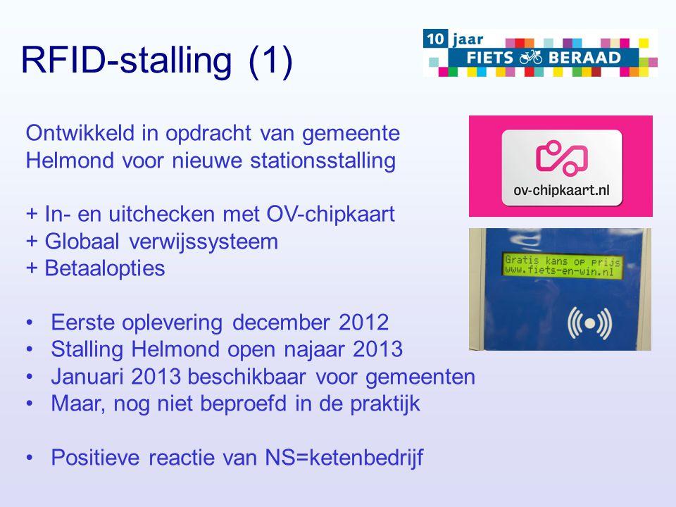 Ontwikkeld in opdracht van gemeente Helmond voor nieuwe stationsstalling + In- en uitchecken met OV-chipkaart + Globaal verwijssysteem + Betaalopties