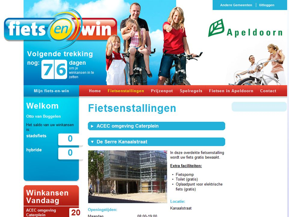 gemeentelijk Fietsparkeer- Management-Systeem Web-omgeving, beheerd door Fietsberaad-CROW Barcode-stallingRFID-stalling?????