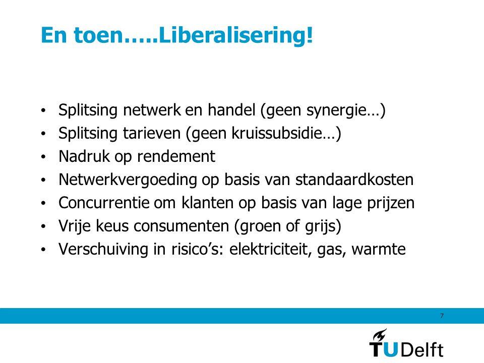 7 En toen…..Liberalisering.