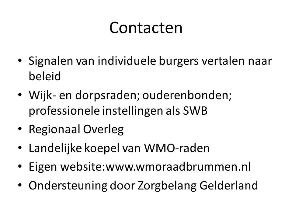 Belangrijke onderwerpen Advies over gemeentelijke 4-jaren beleidsnota en wmo-verordening.
