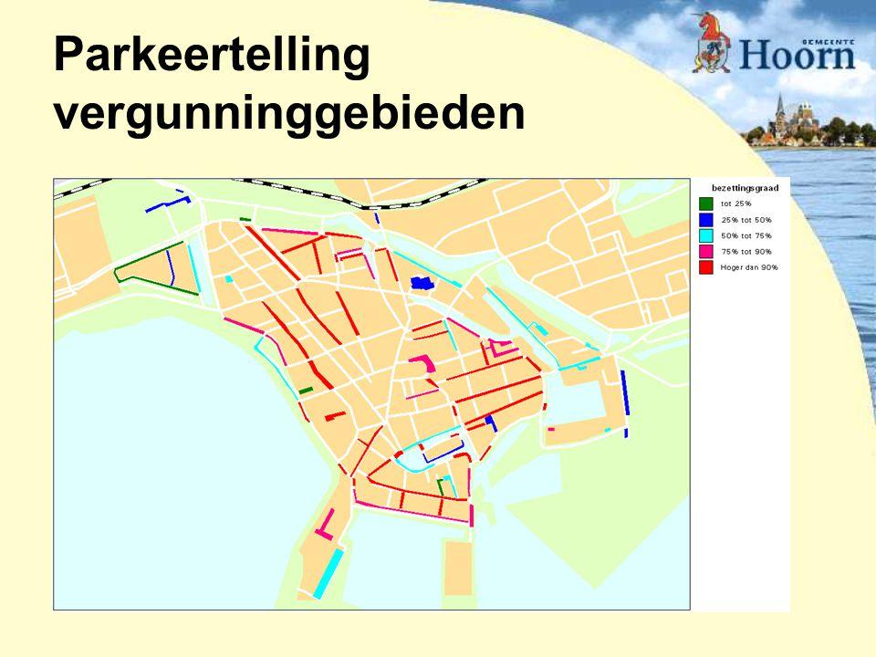 Parkeertelling vergunninggebieden
