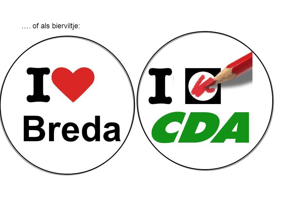 Breda …. of als bierviltje: