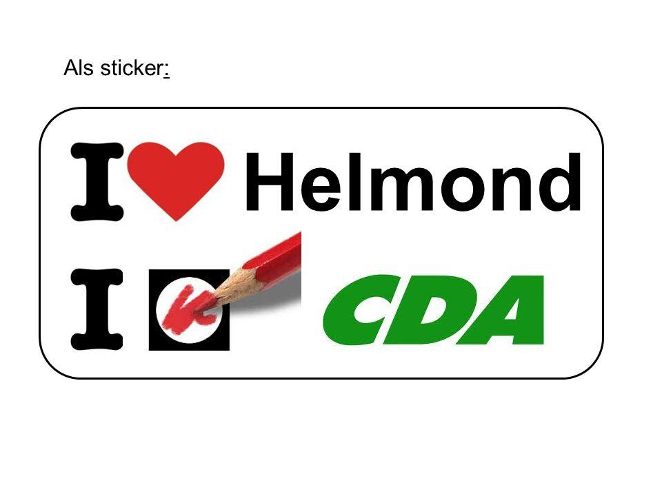 Helmond Als sticker: