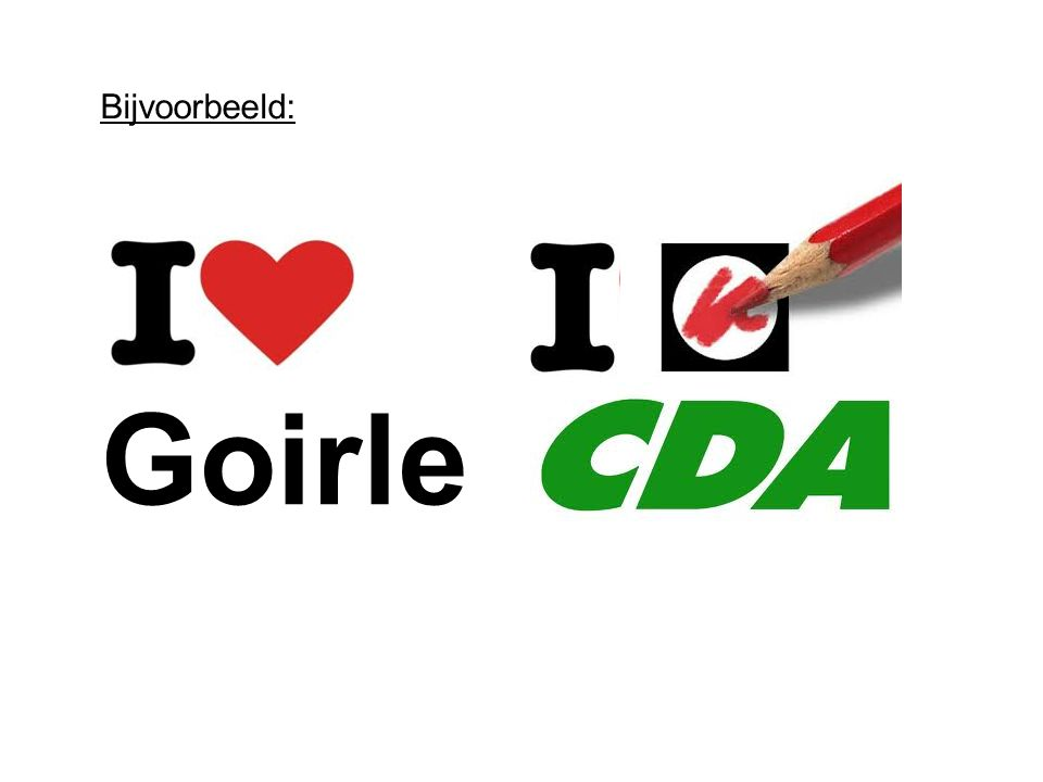 Goirle Bijvoorbeeld: