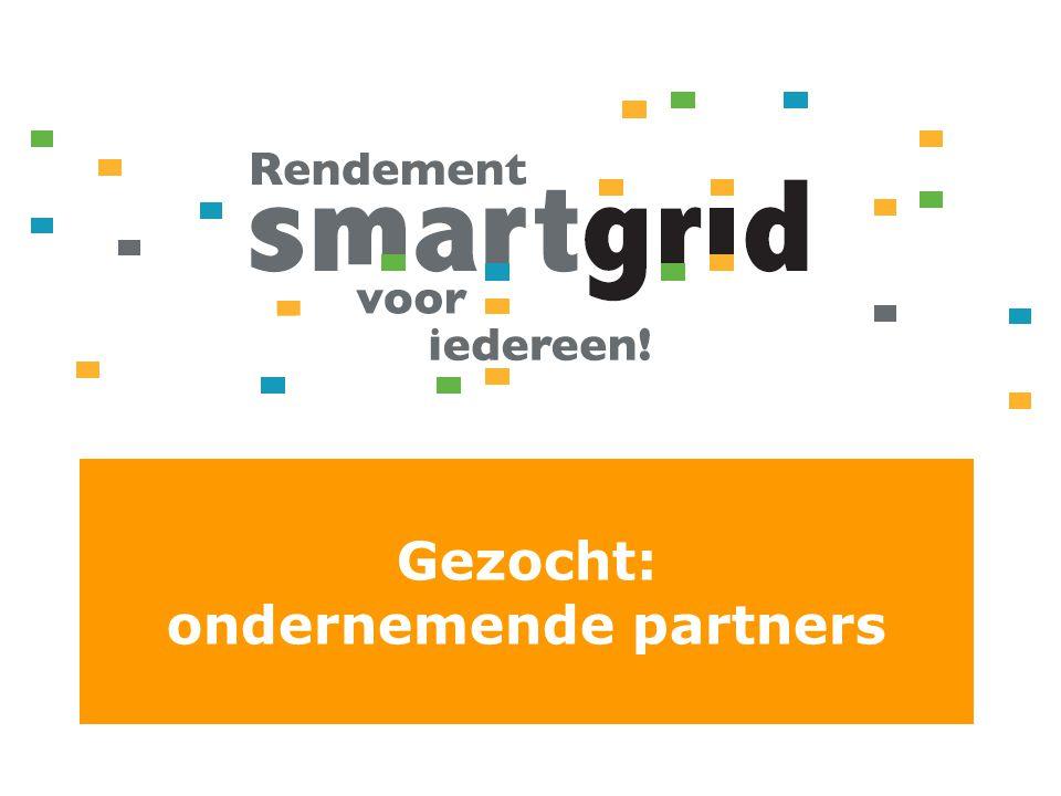 Gezocht: ondernemende partners