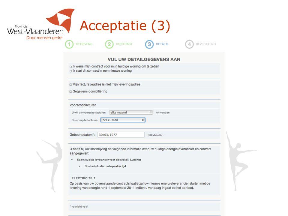 Acceptatie (3)