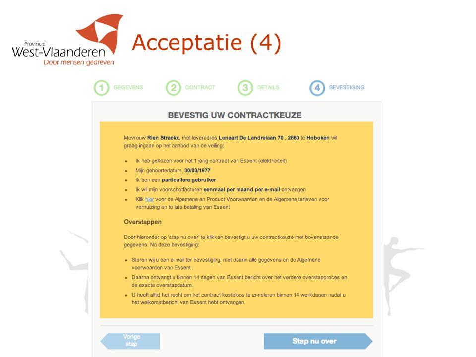 Acceptatie (4)