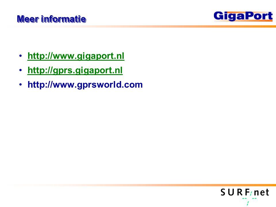 Meer informatie http://www.gigaport.nl http://gprs.gigaport.nl http://www.gprsworld.com