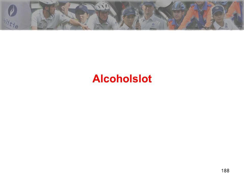 188 Alcoholslot