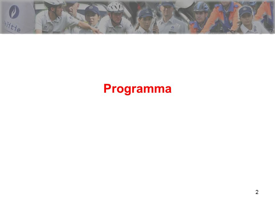 2 Programma