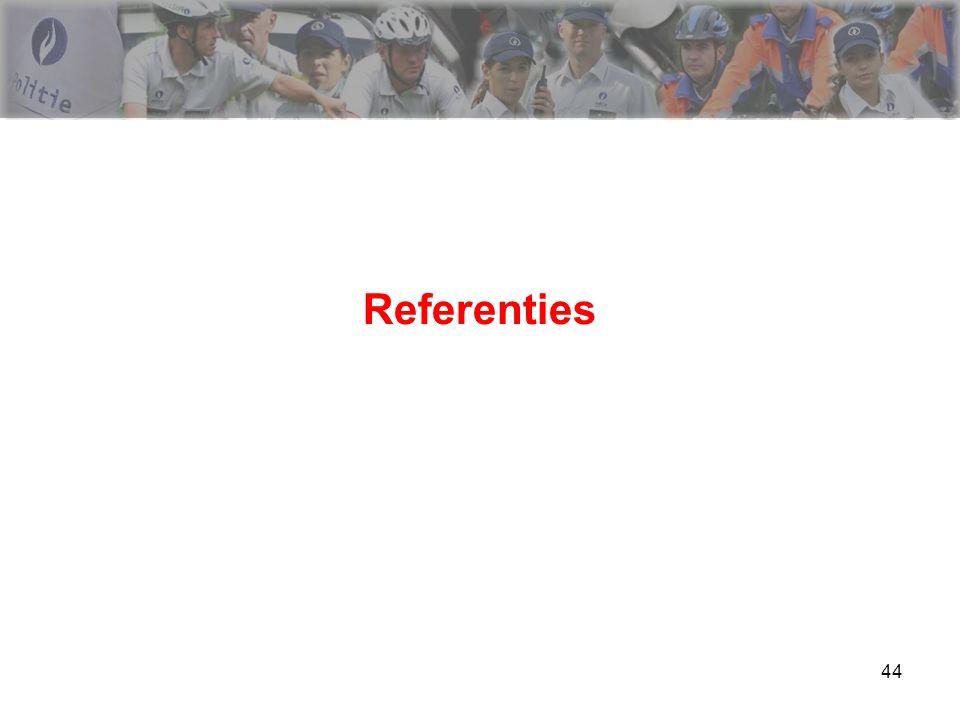 44 Referenties