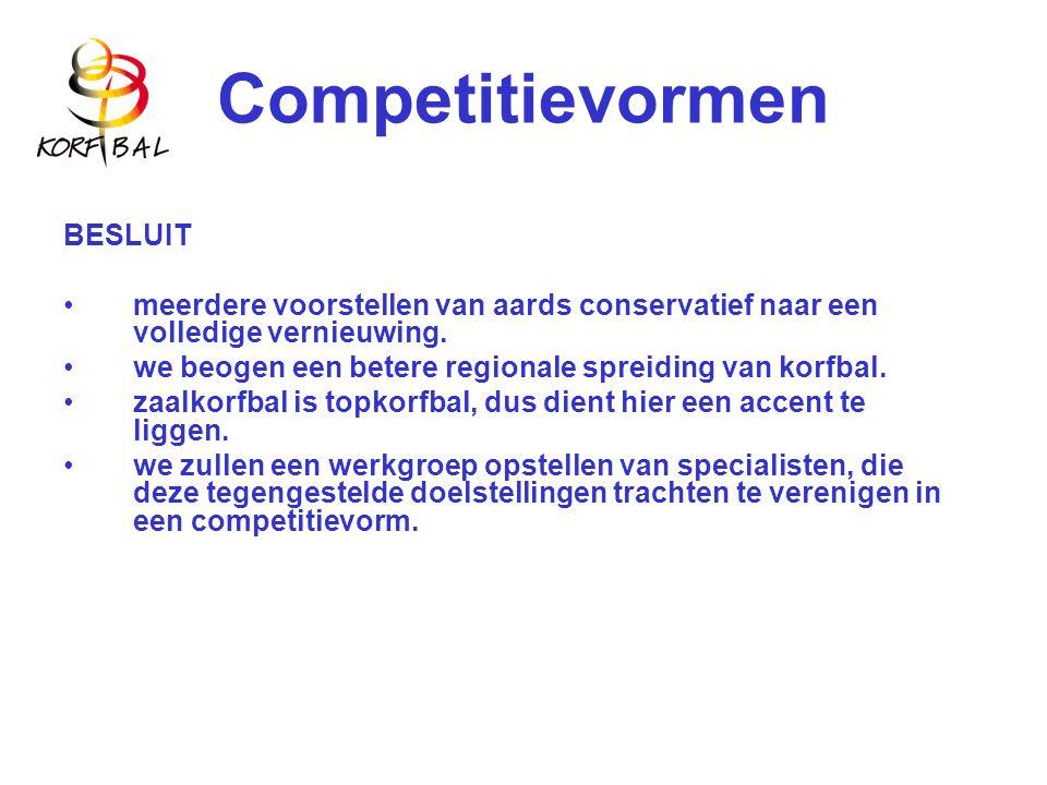 Competitievormen BESLUIT meerdere voorstellen van aards conservatief naar een volledige vernieuwing.
