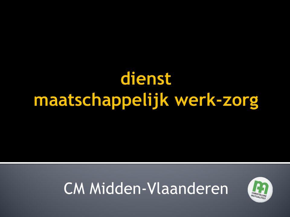  Oppasaanvragen rechtstreeks naar de telefoonvrijwilligers van de gemeente  Aanvragen Mindermobielenvervoer rechtstreeks naar de telefoonvrijwilligers van de gemeente Jan 2011CM Midden - Vlaanderen22