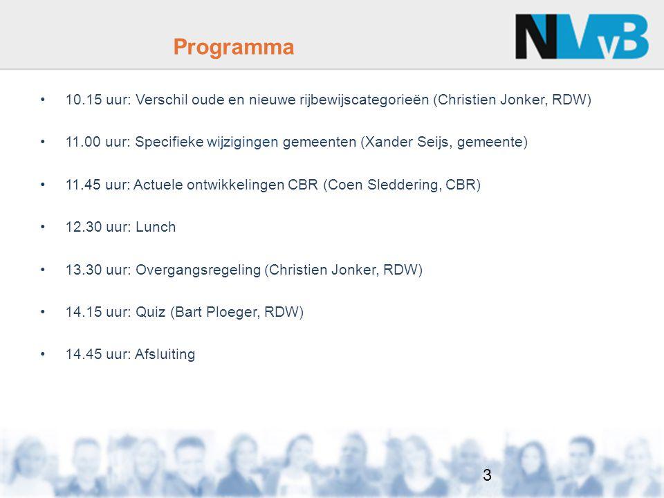4 Wijzigingen 3 e Rijbewijsrichtlijn m.i.v. 19 januari 2013 Christien Jonker, RDW