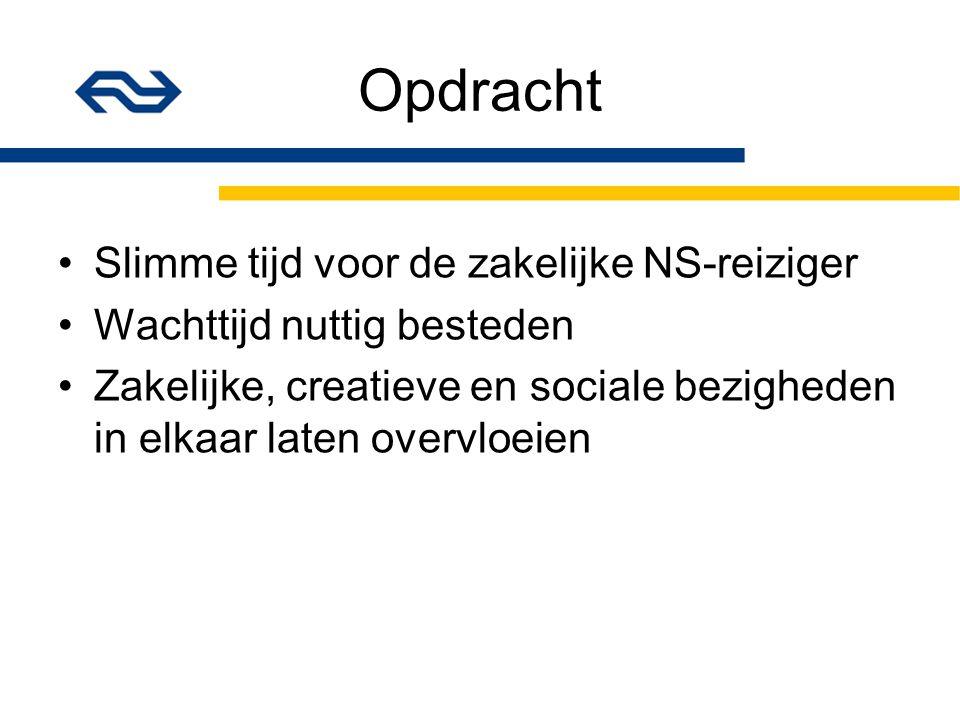Deskresearch Bronnen: NS site en www.treinreiziger.nl NS biedt mobiele service aan.