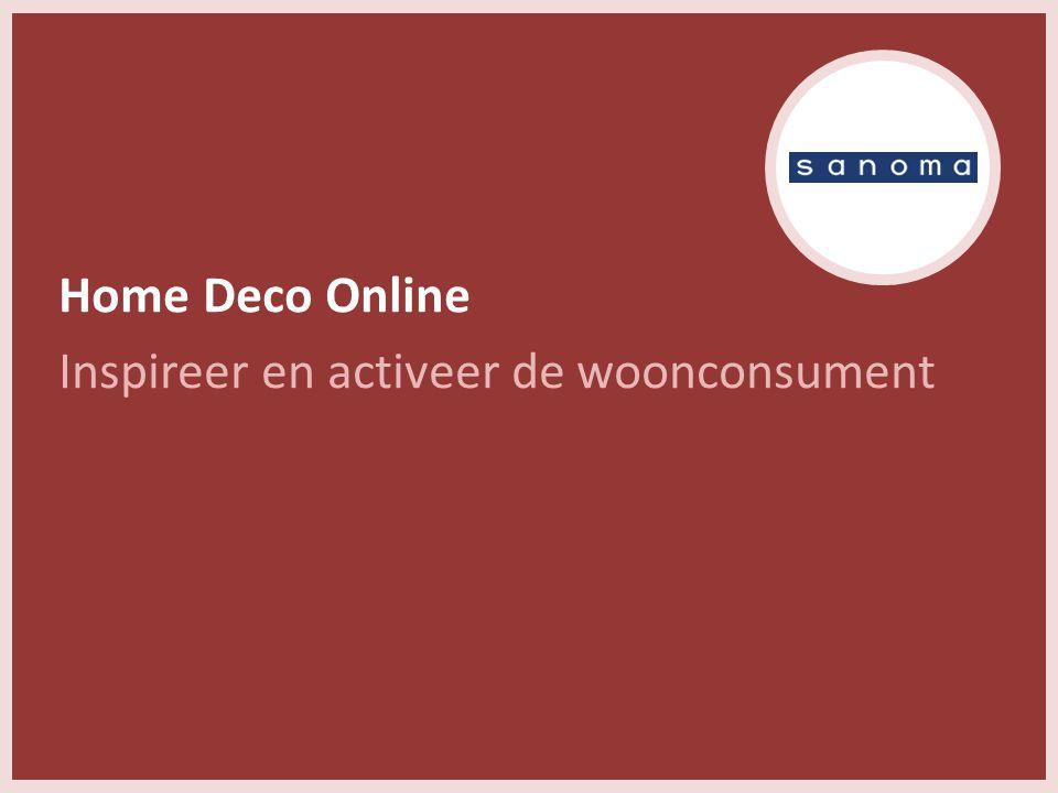 Home Deco Online Inspireer en activeer de woonconsument