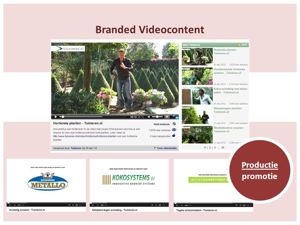 Branded Videocontent Productie promotie