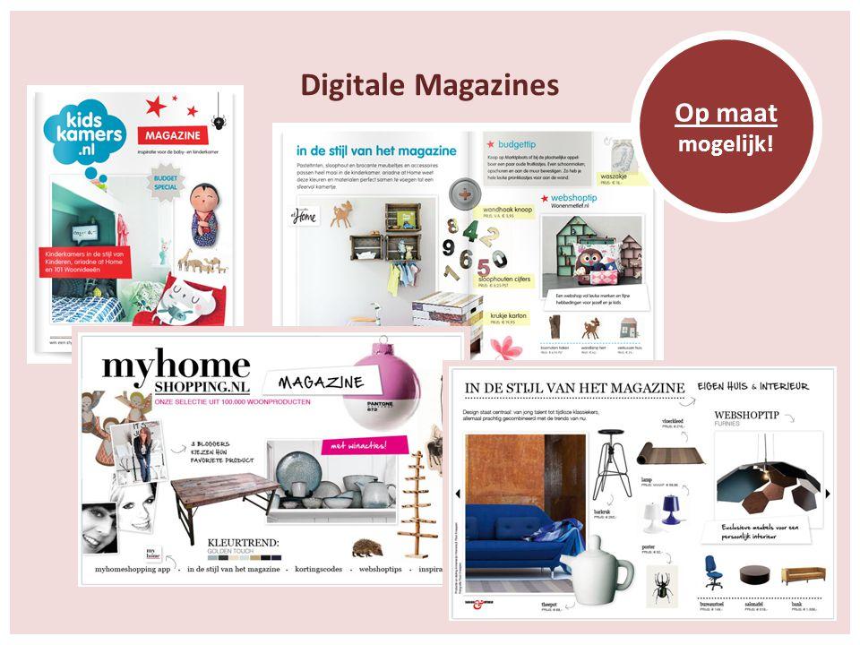 Digitale Magazines Op maat mogelijk!