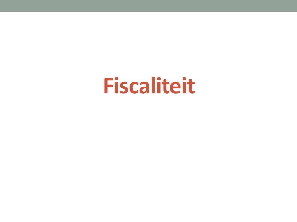 Fiscaliteit
