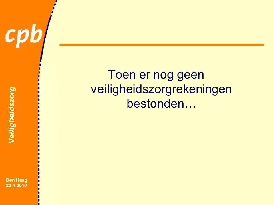 Veiligheidszorg Den Haag 20-4-2010 Toen er nog geen veiligheidszorgrekeningen bestonden…