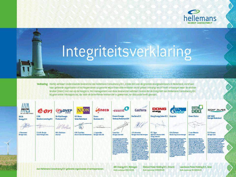 Onafhankelijk adviesbureau in energiedienstverlening Wie is Hellemans Consultancy?