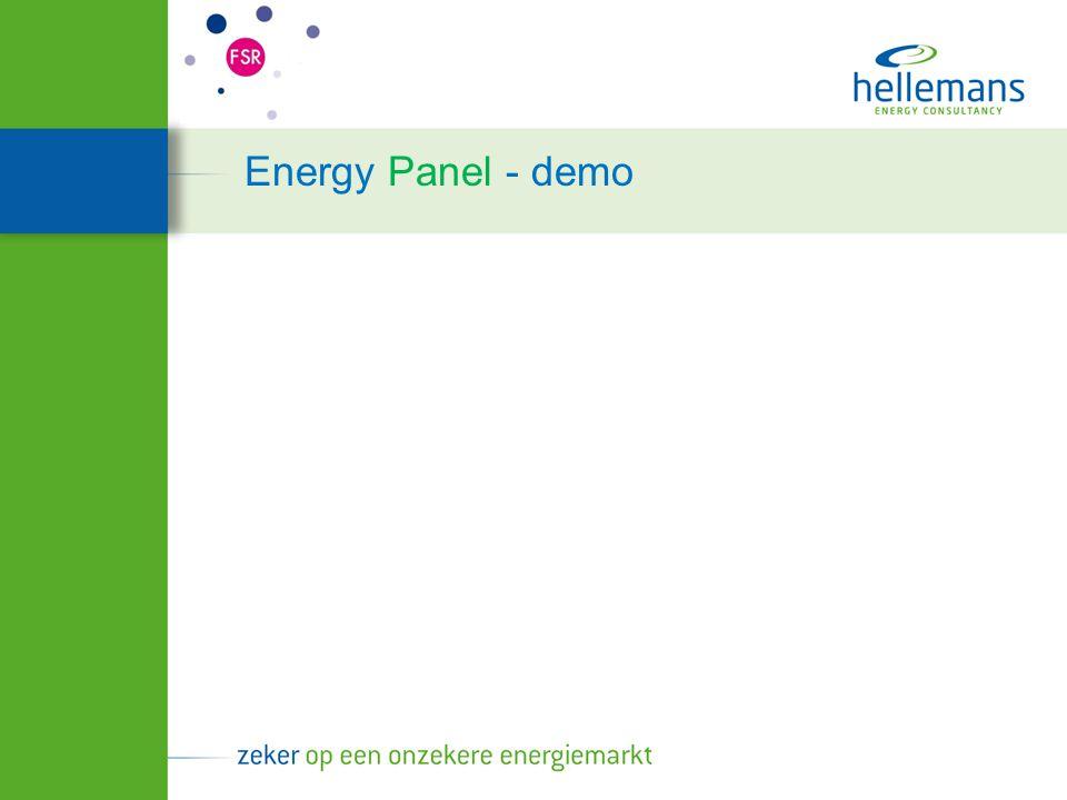 Energy Panel - demo