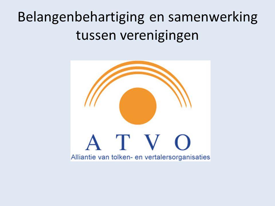 Belangenbehartiging en samenwerking tussen verenigingen