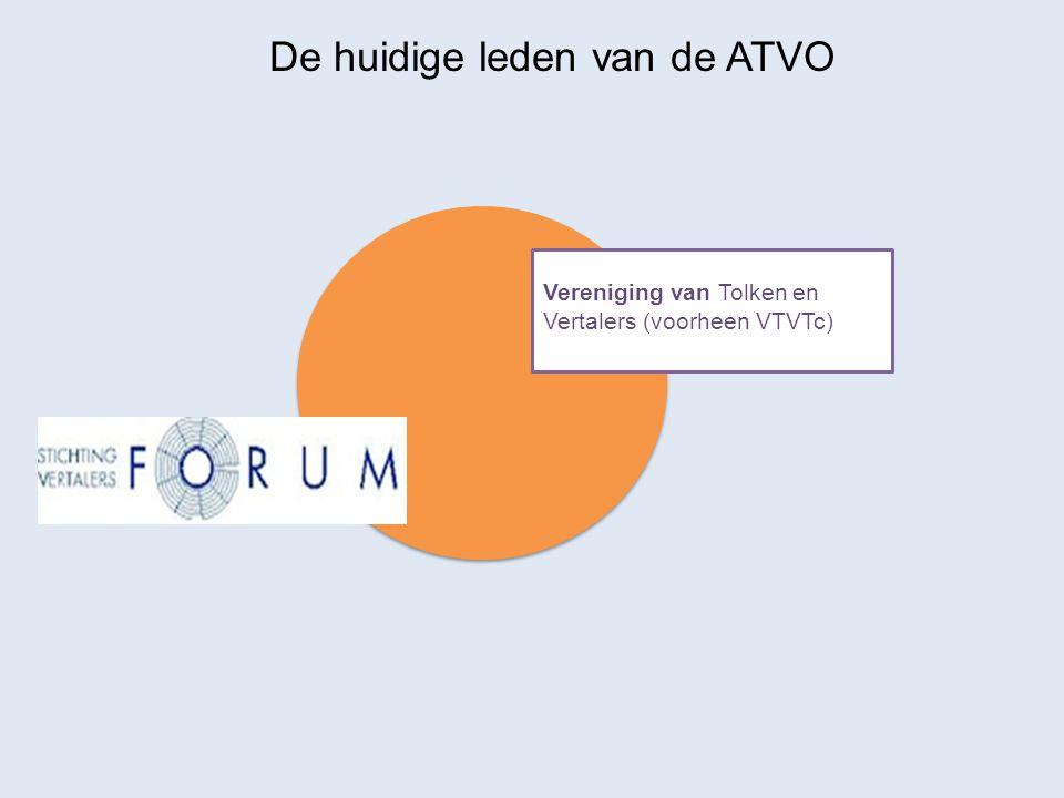 De huidige leden van de ATVO Vereniging van Tolken en Vertalers (voorheen VTVTc)