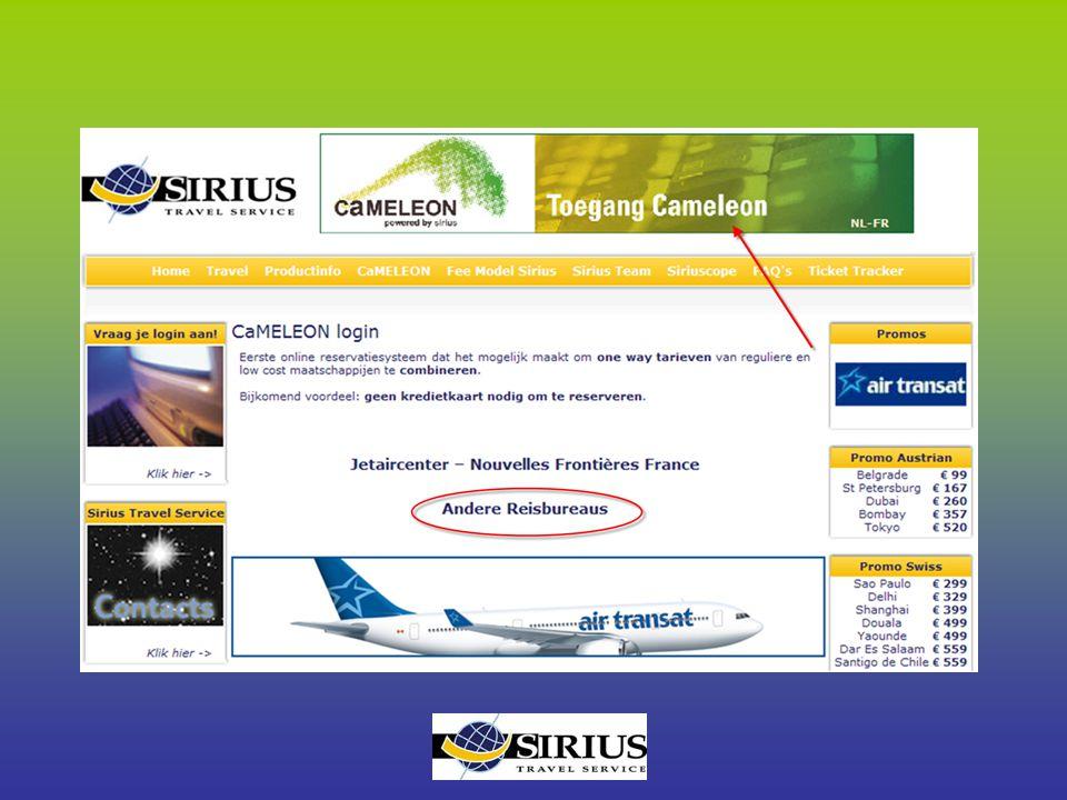 Voorkeur luchtvaartmaatschappij In het veld 'luchtvaartmaatschappij' kan je 1 of meerdere airlines selecteren Je kan tevens de lowcost's uitschakelen door 'Blokkeer LCC' aan te vinken