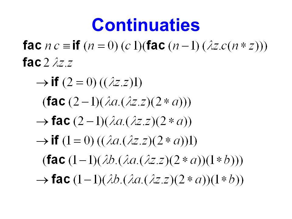 Continuaties