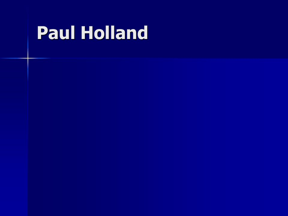 Paul Holland