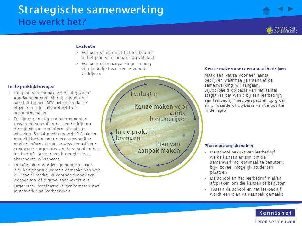 Strategische samenwerking Wat zijn de voordelen.
