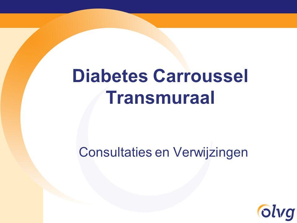 Diabetes Carroussel Transmuraal Consultaties en Verwijzingen