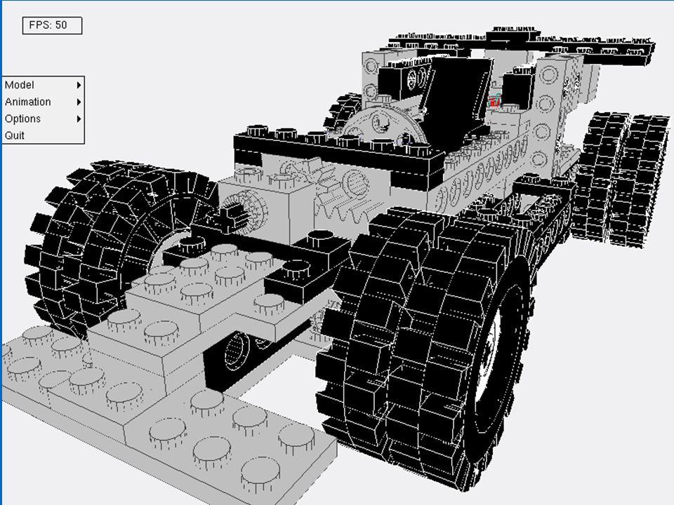 Problemen - LCDmanager Er bestaan zeer veel speciale Legoblokjes => veel moeten extra hard coden in de LCDManager.