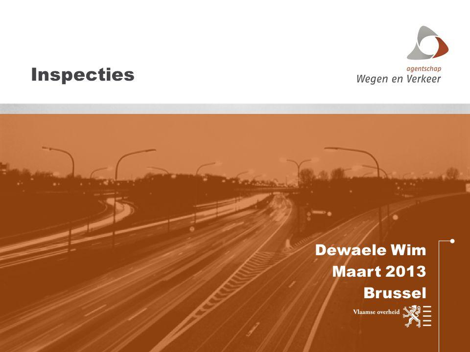 Dewaele Wim Maart 2013 Brussel Inspecties