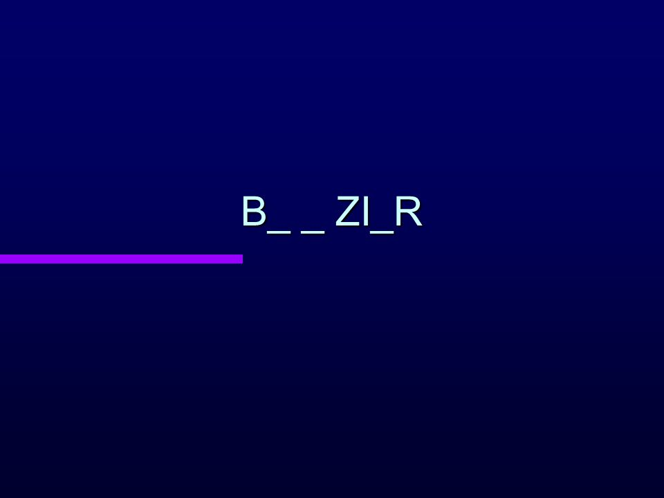 B_ _ ZI_R