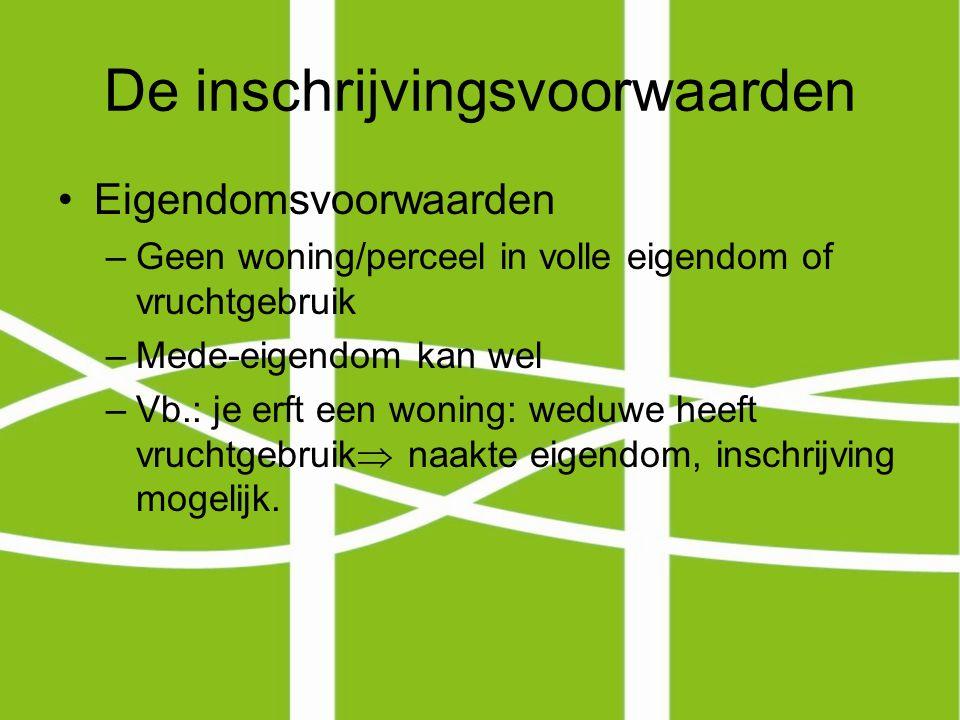 De inschrijvingsvoorwaarden Voorwaarden van taalbereidheid en voorwaarden van inburgeringbereidheid –Hangen samen: Taalbereidheid: Nederlandse taal beheersen of bereid zijn te leren.