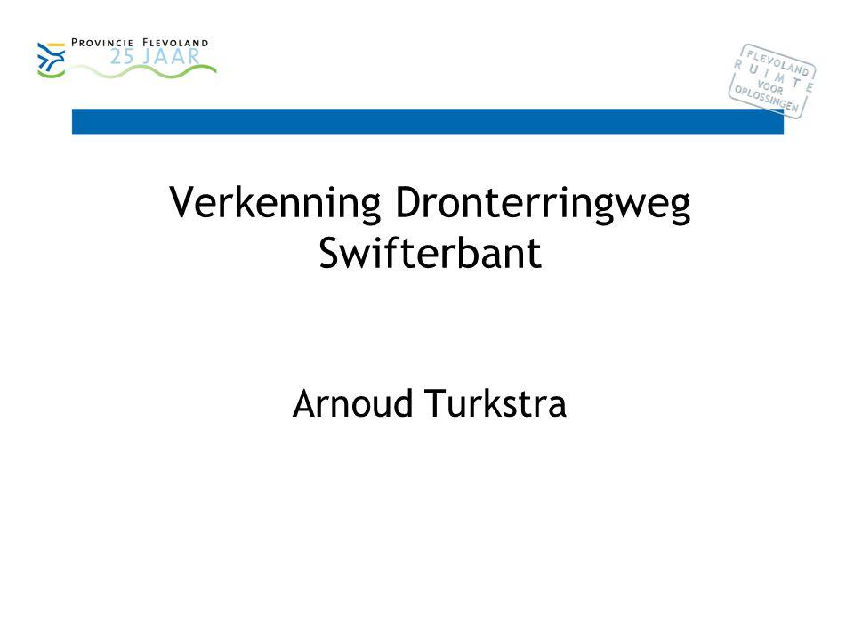 Verkenning Dronterringweg Swifterbant Arnoud Turkstra