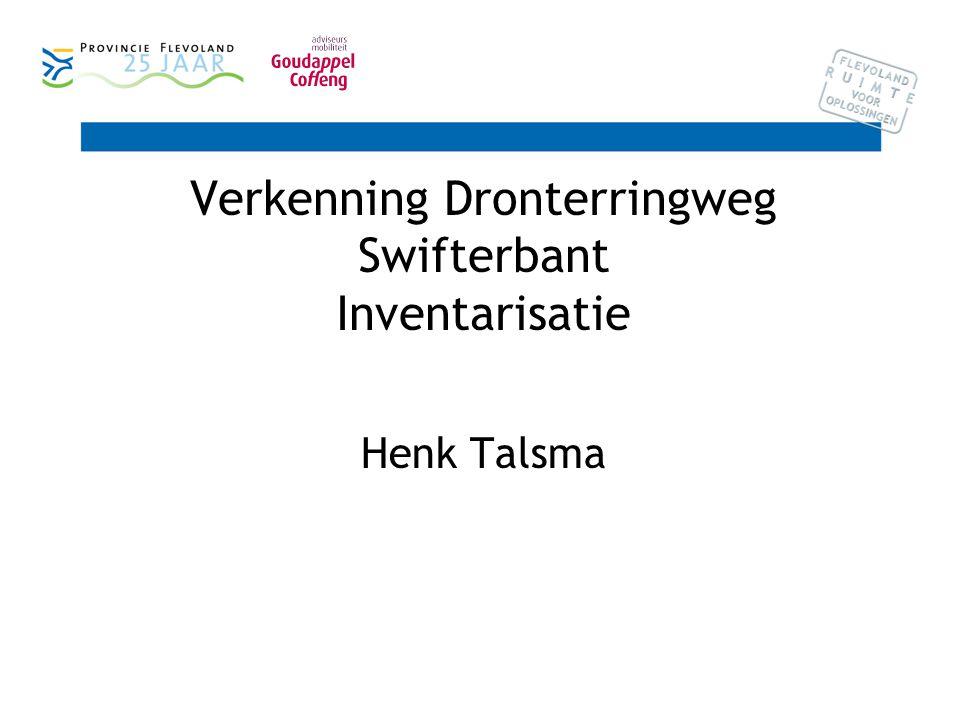 Verkenning Dronterringweg Swifterbant Inventarisatie Henk Talsma