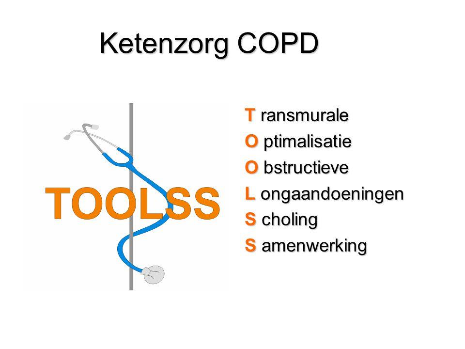 Ketenzorg COPD T ransmurale O ptimalisatie O bstructieve L ongaandoeningen S choling S amenwerking