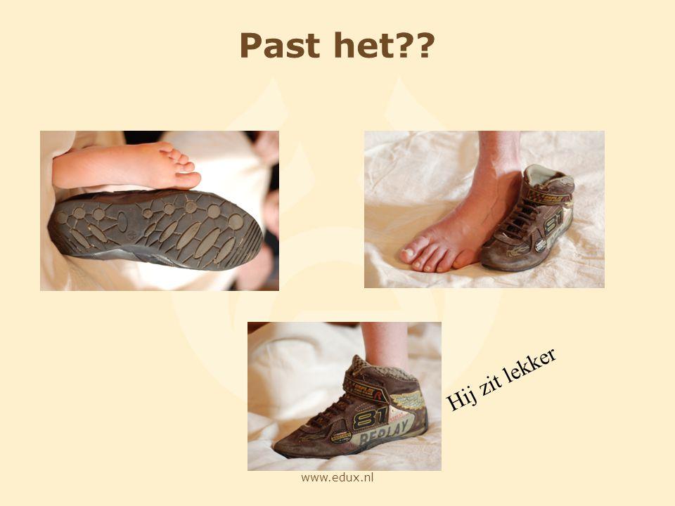 www.edux.nl Past het?? Hij zit lekker