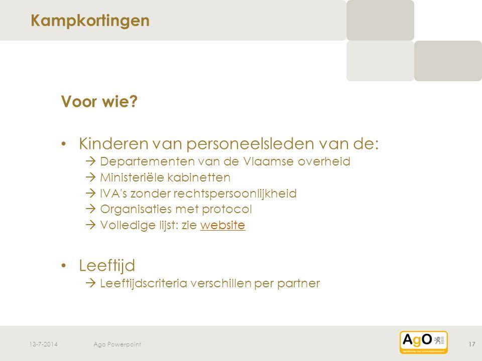 13-7-2014Ago Powerpoint 17 Voor wie.