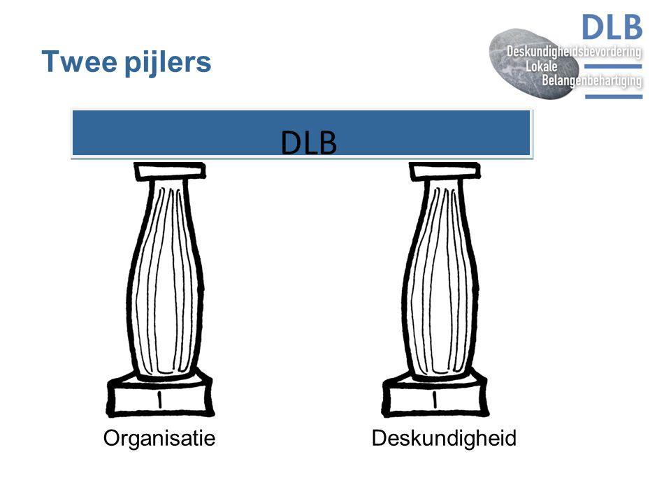 OrganisatieDeskundigheid Twee pijlers DLB